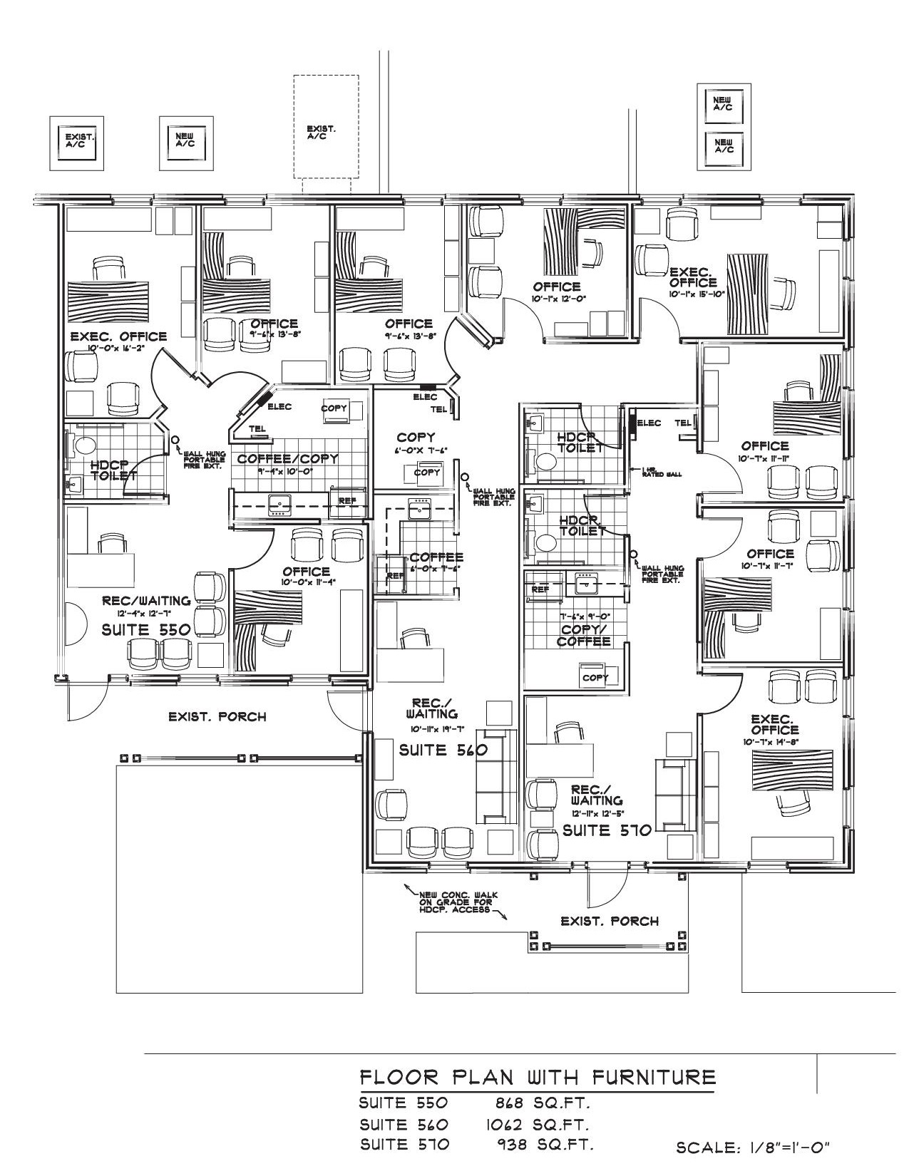 Heritage place office lease space lease space design for House plans with separate office entrance